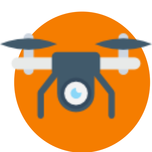 Imagen aérea con drones